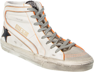 Golden Goose Slide Leather Sneaker