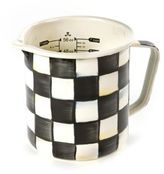 Mackenzie Childs MacKenzie-Childs 7-Cup Courtly Check Enamel Measuring Cup