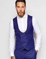 Double Breasted Men's Suit Vest - ShopStyle