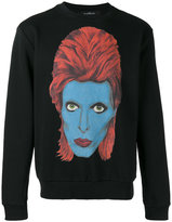 John Richmond David Bowie sweatshirt - men - Cotton/Polyester - S