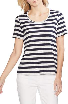 Vince Camuto Amour City Stripe Tee