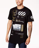 Sean John Men's Industrial Graphic-Print T-Shirt