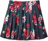 Joe Fresh Kid Girls' Pleated Skirt, Print 1 (Size S)