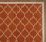 Moorish Tile Rug - Clementine Orange