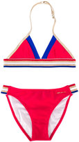 Little Marc Jacobs striped bikini - kids - Polyamide/Polyester/Spandex/Elastane - 2 yrs