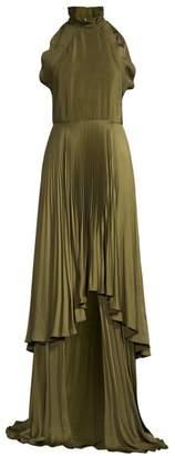 Tiffany & Co. Flor Et. Al Pleated Halter Gown