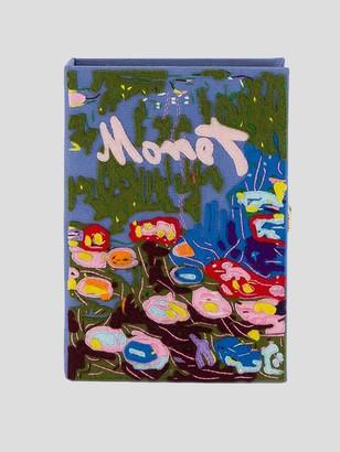 Olympia Le-Tan Monet Book Clutch