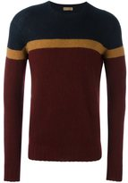 Etro cashmere colour block pullover