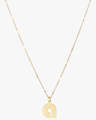 Jenny Bird Modernist Monogram Pendant Necklace
