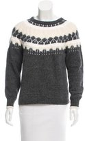 J Brand Textured Knit Sweater