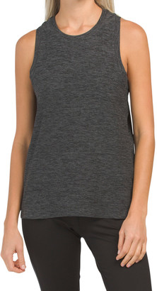 Ladies Moss Jersey Crop Tank