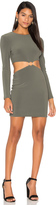 Bec & Bridge Montana Cut Out Long Sleeve Dress