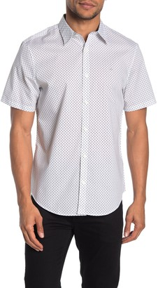 Calvin Klein Short Sleeve Regular Fit Poplin Shirt