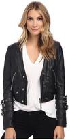 Philipp Plein Rich Leather Jacket