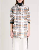 Burberry Scribble checked cotton shirt