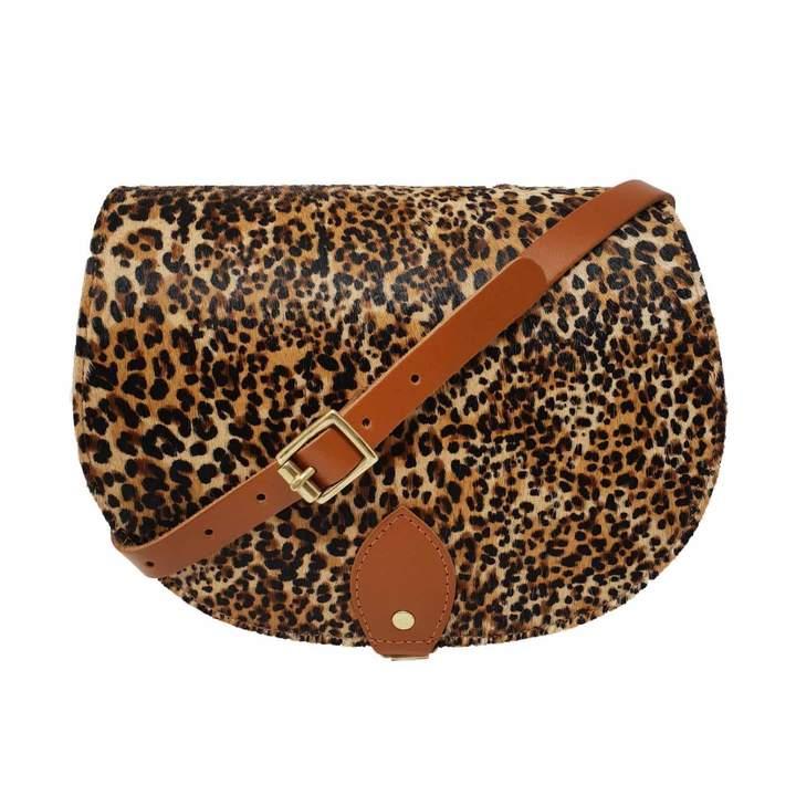 eef1f0c4b90d Brown Leather Pocket Bag - ShopStyle