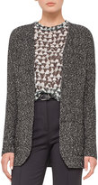 Akris Cotton Tweed Long-Sleeve Cardigan