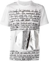 Juun.J story print T-shirt