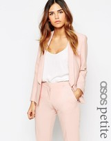 Asos Jacket In Crepe with Skinny Lapel
