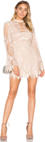 Free People Deco Lace Mini Dress