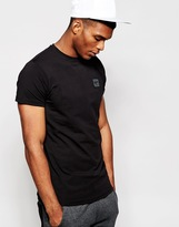 Creative Recreation T-shirt With Small Metal Logo - Black