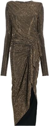 Alexandre Vauthier Studded Ruffle Dress