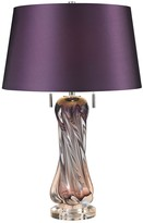 Dimond Vergato Blown Glass 60 Watt Table Lamp