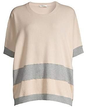 Peserico Women's Striped Knit Wool, Silk & Cashmere Tunic