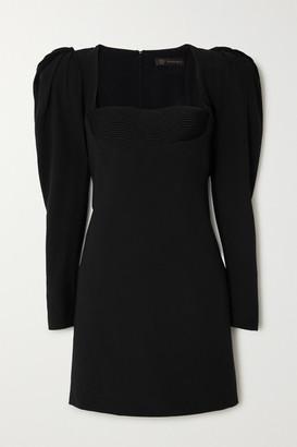Versace Sateen Mini Dress - Black