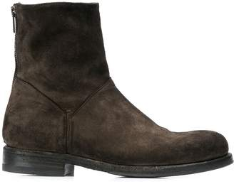 Pantanetti round toe ankle boots