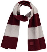 Acne Studios Mini Nader Striped Wool Scarf