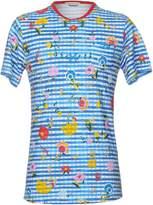 Grey Daniele Alessandrini T-shirts - Item 12098902