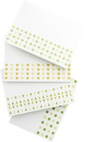 Dahlia Press Bold Bands, Assorted Folded Stationery, Boxed