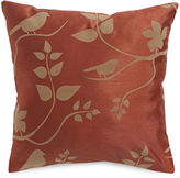 Home Outfitters Adaire Flocked Square Cushion