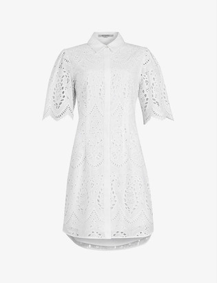 AllSaints Ceecee broderie cotton mini dress