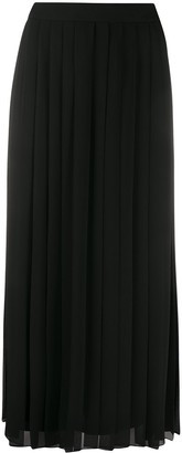 The Row Crepe Pleated Skirt