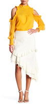 Tea & Cup Asymmetrical Saddle Skirt