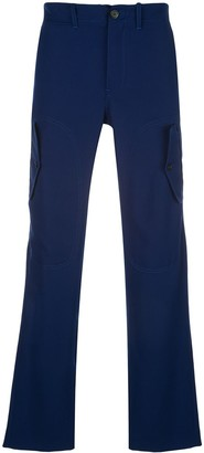 Sies Marjan Eshaan tech twill cargo-style trousers