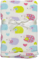 Cutie Pie Baby Porcupine Velboa Blanket