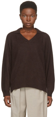 LOULOU STUDIO Brown Wool Sperone Sweater