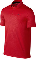 Nike Men's Mobility Dri-FIT Embossed Golf Polo