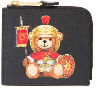 Moschino Eco Leather Teddy Bear Pouch