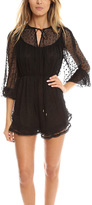 Zimmermann Belle Web Dot Playsuit