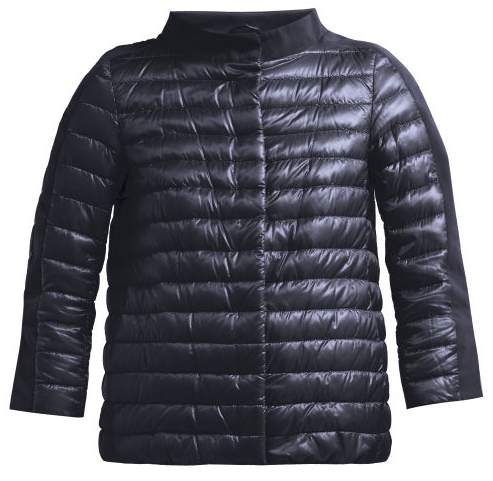 cd46a5324 Panelled Quilted Down Jacket - Womens - Navy
