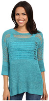 Miraclebody Jeans Drew Dropneedle Sweater w/ Body-Shaping Inner Shell