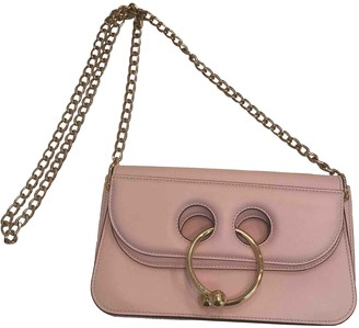 J.W.Anderson Pierce Pink Leather Handbags
