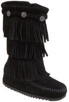 Minnetonka Girl's Three-Layer Fringe Boot