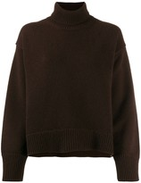 Chinti and Parker Cashmere Roll-Neck Knitted Jumper