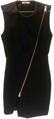 Bouchra Jarrar Black Wool Dresses