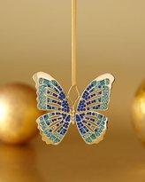 L'OBJET Blue Butterfly Ornament